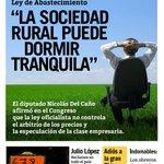 RT @izquierdadiario: #TemasDelDía La soja puede especular tranquila   Acá falta López   Los indomables de Lear. http://t.co/zTK4vJGNcU http://t.co/O77zyZia65