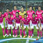 RT @LIGABancomerMX: #Min43 LEÓN 0 | 1 MTY ¿Qué tal el uniforme del @clubleonfc esta noche? Apoyando la lucha Vs el Cáncer. #SienteTuSalud http://t.co/lT70ZSsIDo
