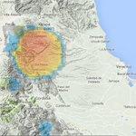 #Lluvias con tormentas eléctricas se pueden presentar entre la zona montañosa central de #Xalapa y #Huatusco. Atentos http://t.co/OTwPQmkbHu