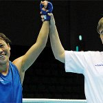 Hail #MaryKom! @ET_Lifestyle: #MaryKom wins her first-ever GOLD MEDAL at #2014AsianGames #Incheon. Congratulations! http://t.co/kTKekdB3YI