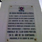 RT @Elefante_Eferve: En #CerroPorteño nació la Patria!!! Salud a todos los Cerristas un gran abrazo Azulgrana!!! #CerroPorteño102Años http://t.co/3LfjC7NrkM