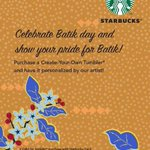Celebrate batik day and show your pride for batik! ???? #batikday http://t.co/3CHlVwpNHm