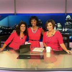 October is #BreastCancerAwareness month and the ladies of @wcpo are representing! @Sherry_Hughes @JulieONeillWCPO http://t.co/sNVY3cLhzG