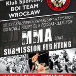 RT @BoiTeamPolska: Zapraszamy - nowe miejsce, nowa grupa. #mma #submission #wrocław http://t.co/mpjJds79rK