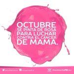 En el Mes de Octubre conmemoramos la lucha contra el #CáncerDeMama @MovPRIMXOficial @PRImx_Ags http://t.co/InlCiKqmkM