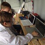 RT @LS14Trust: Roboting in Seacroft #leeds #timetravellingrovinglab http://t.co/OYT6sGIhot