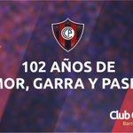 RT @ccp1912oficial: ¡EL PUEBLO ESTA DE FIESTA! ¡102 años de amor, garra y pasión! ¡102 años del Club Cerro Porteño! #CerroPorteño102años http://t.co/jzOdTO8Eou
