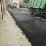 Jornada de asfaltado en el CDA Trujillo 1. Construpatria Trujillo. http://t.co/IJ0Ankk87h