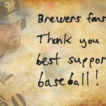 A message to the best fans in baseball from @JLucroy20: #Brewers http://t.co/mcO9eEE3SB