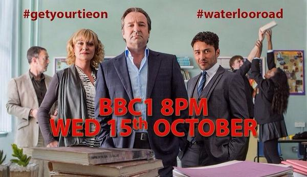 #WaterlooRoad return date ANNOUNCED!! Wednesday 15th October, 8pm, BBC1!! #getyourtieon http://t.co/cL122TTmTH