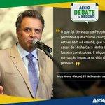 RT @_souaecio: Aécio cobrou de Dilma o dinheiro roubado na Petrobras! Uma quadrilha se apropriou de nossa maior empresa. #voto45 http://t.co/Zg22DQw2Yu