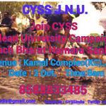 "Join CYSS ""CleanUniversityCampaign"" Venue- 1.D.U Metro 2.Kamal Complex(JNU) 2Oct by 8am ""Swach Bharat Hamara Sankalp"" http://t.co/imEMJ965RP"