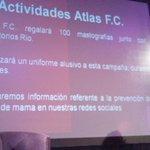 Las actividades rojinegras de la campaña contra el cáncer de mama. http://t.co/bHEQdXOGSC