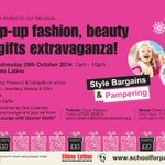 RT @sfp_nottingham: #eastmidlandshour please RT Fashion show, Beauty, Pampering, Gifts: 29 October at @ChinoLatinoEU #Nottingham #charity http://t.co/8RV6WZMp0n