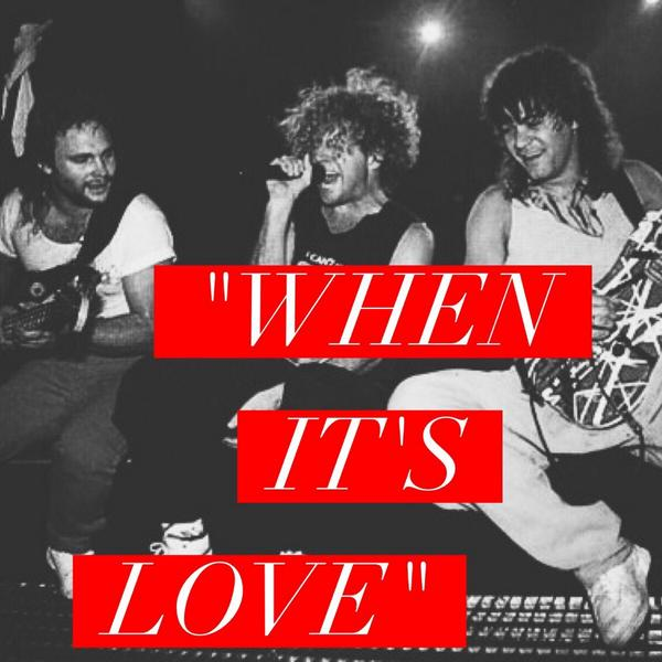 """In honor of National Music Day, #2 on the #VanHalenCountdown is """"When It's Love"""", this song never gets old! http://t.co/qMBluaagfQ"""