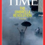 RT @EXPATS4HK: Hong Kongs #UmbrellaRevolution makes front cover of @Time magazine. I need this! #UmbrellaRevolution #OccupyCentral http://t.co/sHUAgmUom8