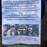 RT @PrensaRural: Esta es la propaganda sucia que el fascista @_El_Patriota estaba repartiendo en la ciudad de Tibu http://t.co/HmFabBUxe0