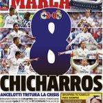 RT @sopitas: Oleeeeee la portada de Marca tras el doblete de Chicharito con el Real Madrid! http://t.co/Asfd63XoYB http://t.co/P9h2B8O45G