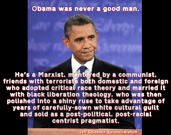 """Barack Obama: """"..friends with terrorists both domestic and foreign.."""" http://t.co/Spvai07ZpS https://t.co/3ARWoR1td5"""