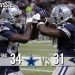 FINAL: Cowboys 34, Rams 31. http://t.co/0zFKCXbNEv