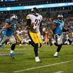 RT @SportsCenter: Steelers rack up 264 Rush yds to beat Panthers, 37-19. • Le'Veon Bell: 147 Yds • LeGarrette Blount: 118 Yds, TD http://t.co/HYAajmUnLf