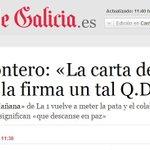RT @EsppeonzAguirre: Ridículo de Mariló Montero: «La carta de la familia de Asunta la firma un tal Q.D.E.P.» http://t.co/JxcB5bEAIr http://t.co/Iaq9ZOQipj