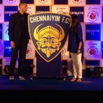 RT @ChennaiyinFC: There it is! The #ChennaiyinFC logo. http://t.co/f6rrHpauFD