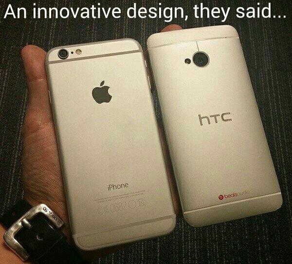 You can't copy #Greatness it'll always look like Shit!! @HTCUSA are kings of innovative design!! #TeamHTC #TeamGreen http://t.co/TsCSaalSOO
