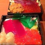 RT @livedoornews: 【ソックリ】海鮮丼と海鮮丼風スイーツがコラボ販売 http://t.co/O1JTbKsoYN 交互に食べると頭がパニクるらしい http://t.co/I797ulsuOh