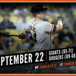 RECAP: 13th-inning heroics from @andrewsusac and @gregorblanco7 lift #SFGiants past Dodgers. http://t.co/vOB37PQ5kT http://t.co/JOCuDUKUH8