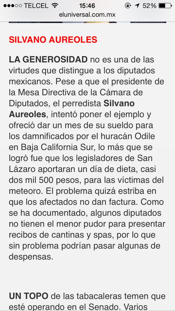 """""""@veronicalderon: Los diputados de #México se negaron a donar su salario a  víctimas de Odile. http://t.co/bFhPCZrJGe"""" nada nuevo! Q pena"""