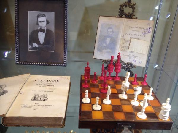 Открыли музей шахмат в Центральном Доме Шахматиста :) http://t.co/Vk0TEKSRLG