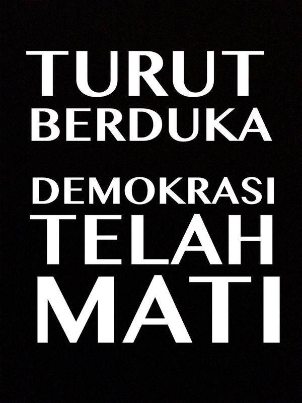 Yes, the blame is yours too, Mr President #ShameOnYouSBY http://t.co/RQryDK1fxB