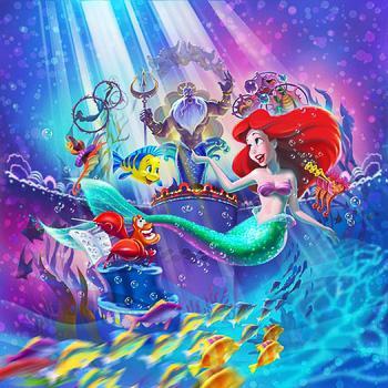 ディズニー、総額40億円の「リトル・マーメイド」新ミュージカルが来春スタート http://t.co/muXf0AcLfc http://t.co/j07mMa5wmQ