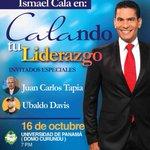 By @gaitanbros: @CALA 16.OCT #PANAMA un Seminario lleno de LIDERAZGO junto a @JCTapiaLMB @DavisZone @MiDiarioPanama http://t.co/LWWCQVJkpL