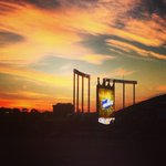 The dawn is breaking over #TheK as we enter a new dawn in @Royals baseball. First pitch in 12 hours! #ALWildcard http://t.co/6aktB83wBq