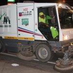 Autoridad de Aseo inicia barrido de calles. Más en http://t.co/8cI6cu1xGl http://t.co/lVXE3dBUpr