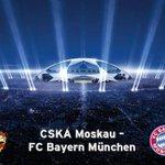 ♫ Die Meister. Die Besten. Les grandes équipes. The champions. ♫ In 3 Stunden geht es los! #Vorfreude #CSKAFCB http://t.co/yu9pnSkWcR