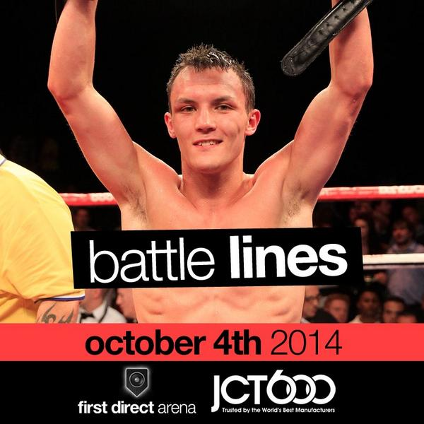 #PrizeDraw: FOLLOW us, RT & tell us your favourite boxer for a chance to win x2 tickets to #BattleLines @fdarena! http://t.co/ym8L1rhrSe