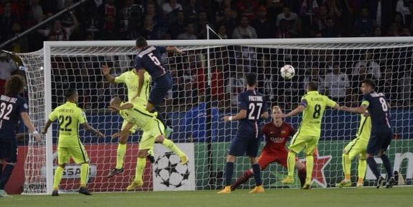 Skyrock  (@SkyrockOfficiel): Bravo au @PSG_inside qui l'emporte 3 à 2 face au @FCBarcelona #LigueDesChampions #PSGBAR http://t.co/Y5ltFerjie
