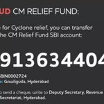 Time to share pain.It's not just the govt's responsibility it's ours too .. I'm sending 5 lakhs .pls do what u can http://t.co/s1dEIPH4S2