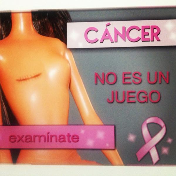 Susana Almeida (@Susyalmeida1): El cáncer no es un juego, examínate! #campaña #prevención #muyapechocercadetucorazón #hayesperanza  ☺️