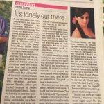 """@amitmehra: Beautiful introspective article by @divyadutta25 http://t.co/8pWx9QTgTS""thnx amit! So glad u liked it"