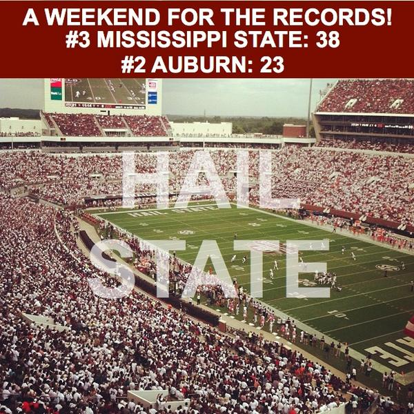 Your Mississippi State Bulldogs are 6-0! Hail State! http://t.co/G0WCLQAx3e