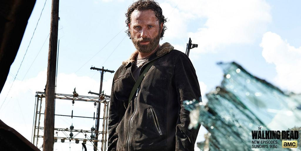 """RT @WalkingDead_AMC: """"That's what I'm going to use to kill you."""" – Rick #TheWalkingDeadPremiere http://t.co/3GPPc2RRmt"""