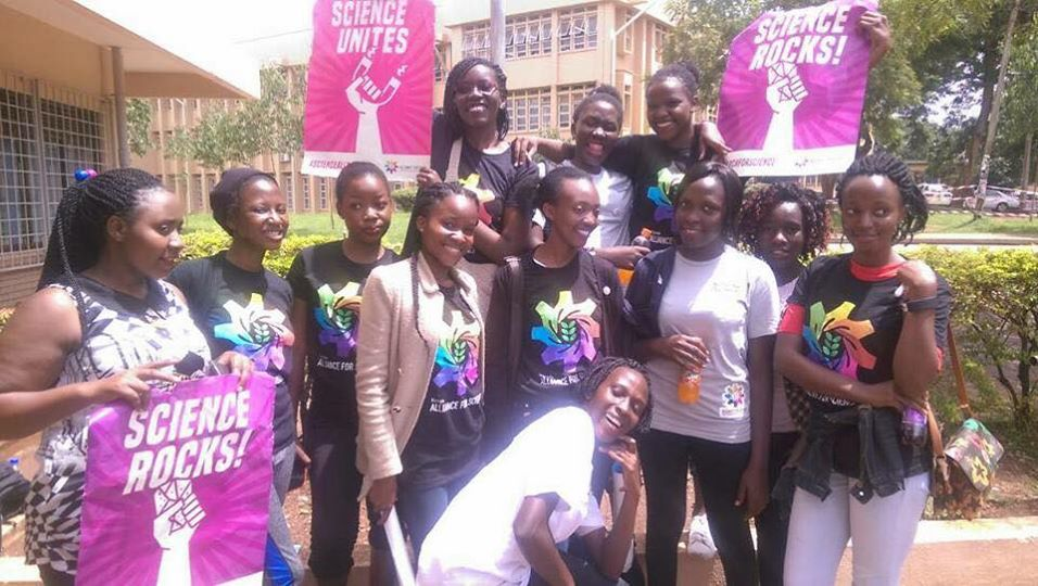RT @luckytran: Y'all! The #marchforscience in Uganda is beautiful!!! #globalmarchforscience https://t.co/85IW6JG5Sa