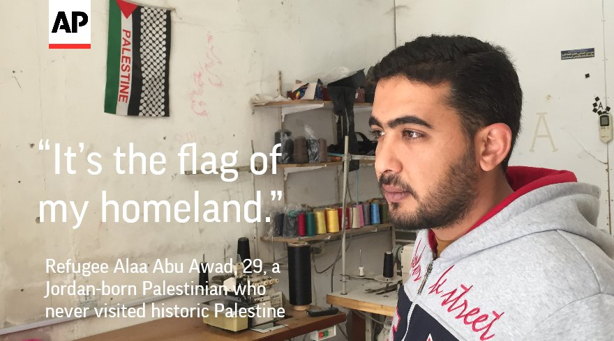 In a camp in Jordan, offspring of Palestinian refugees long for a homeland they've never seen and can't visit. https://t.co/CnRf33LHdP