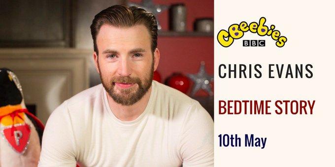 Coming soon to a living room near you! 📚🎬🐧  @ChrisEvans #BedtimeStory #ChrisEvans