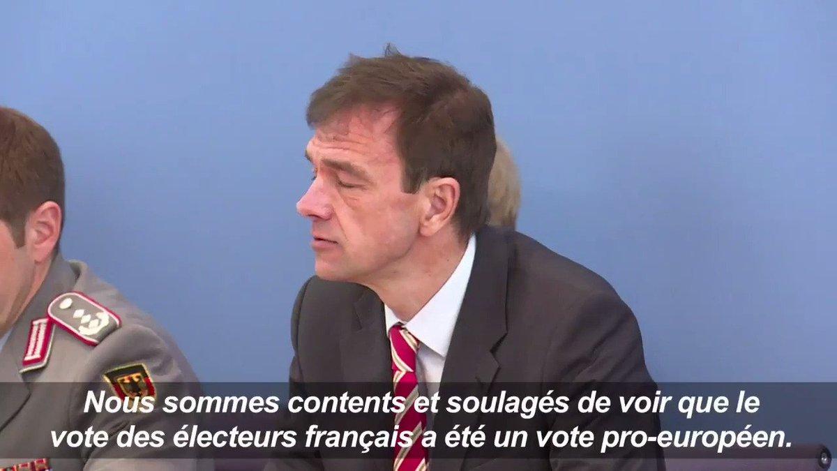 Présidentielle française : la diplomatie allemande 'soulagée' #AFP