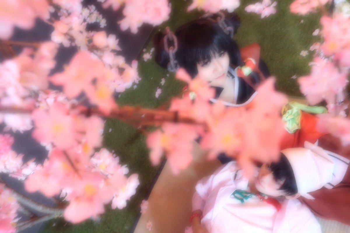 鬼灯の冷徹「櫻の樹の下には」チュン:片瀬くくさん()白澤:ka-coさん()